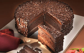Große Kuchen und Torten