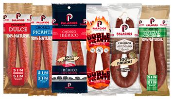 Spanische Chorizo - Paprika-Salami im Ring